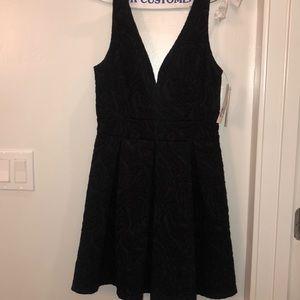 Aqua Black Dress
